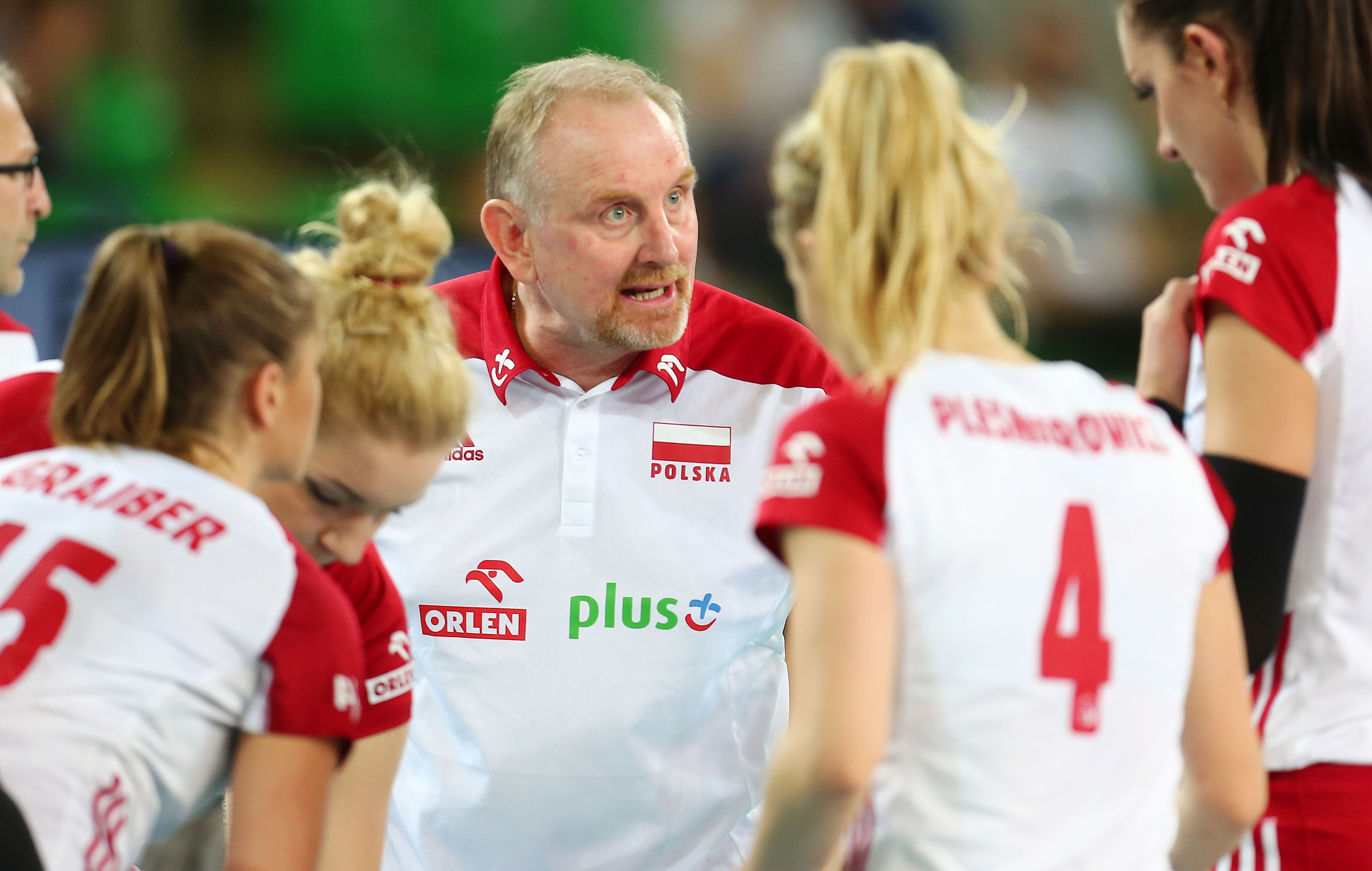 Jacek Nawrocki, selekcjoner reprezentacji Polski w siatkówce kobiet