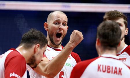 Bartosz Kurek w meczu Polska - USA