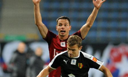 Jakub Bartkowski w meczu Wisła Kraków - Korona Kielce