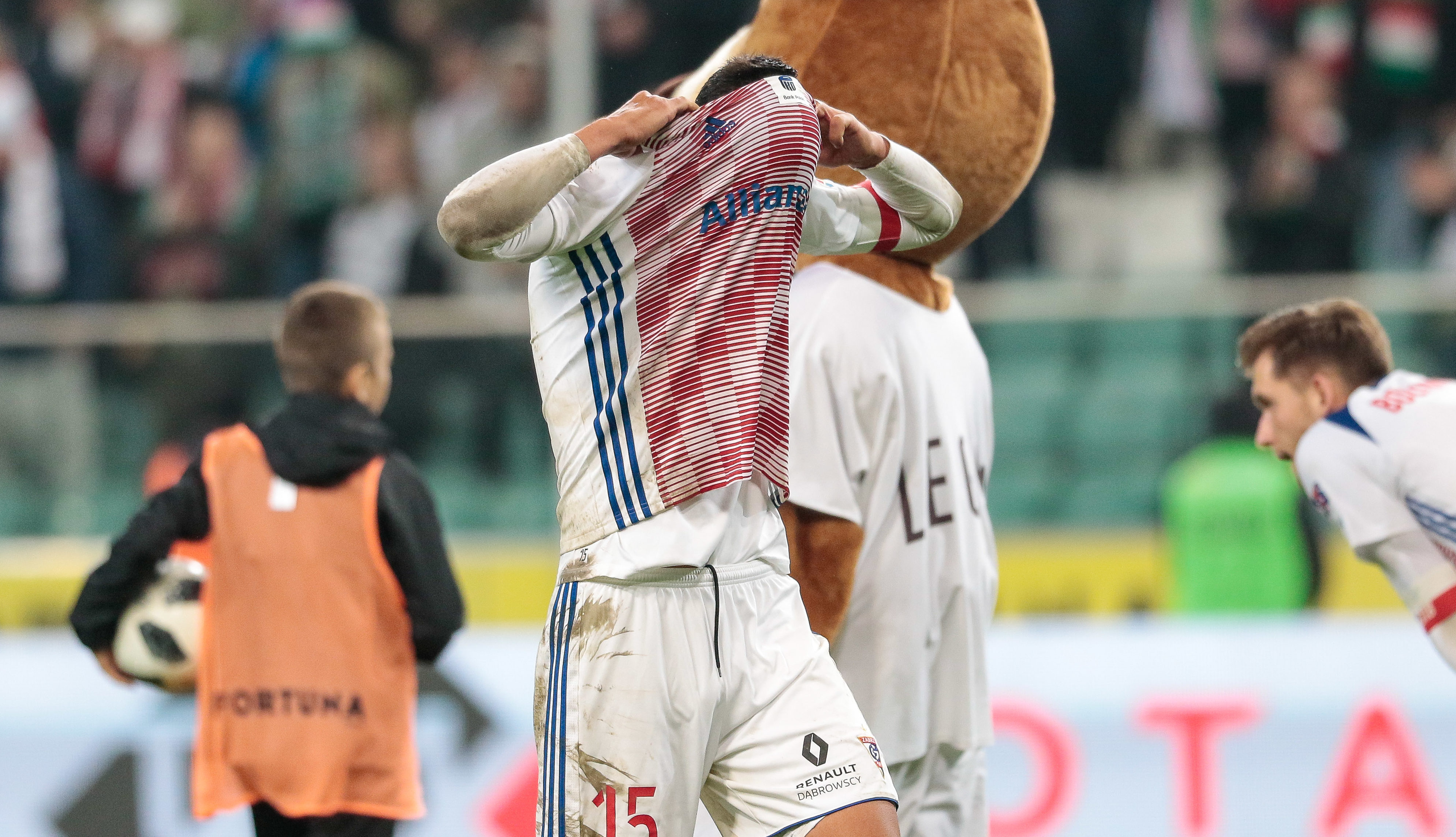 Dani Suarez smutny po meczu Górnika Zabrze