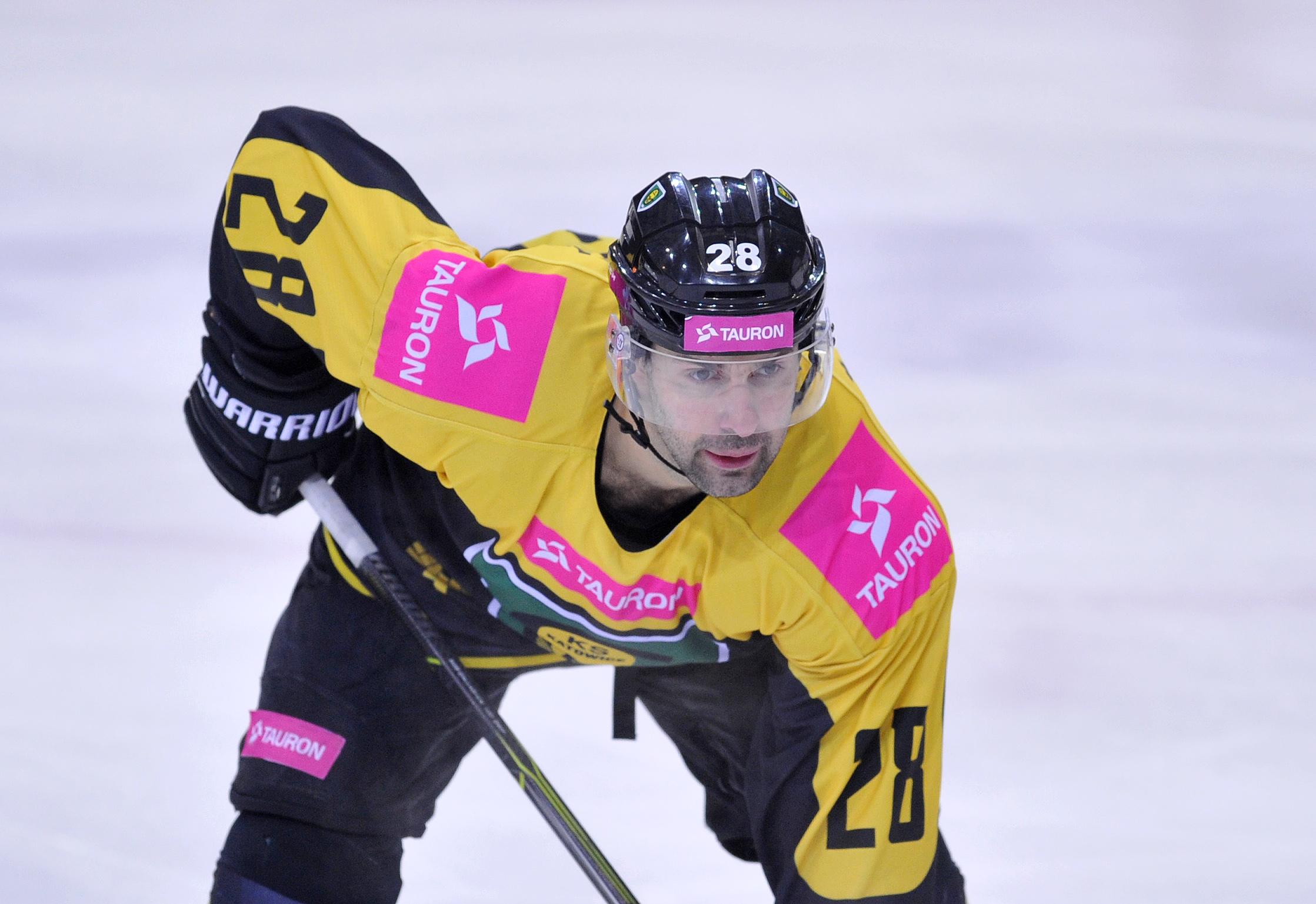 Mikołaj Łopuski, zawodnik KH GKS Katowice
