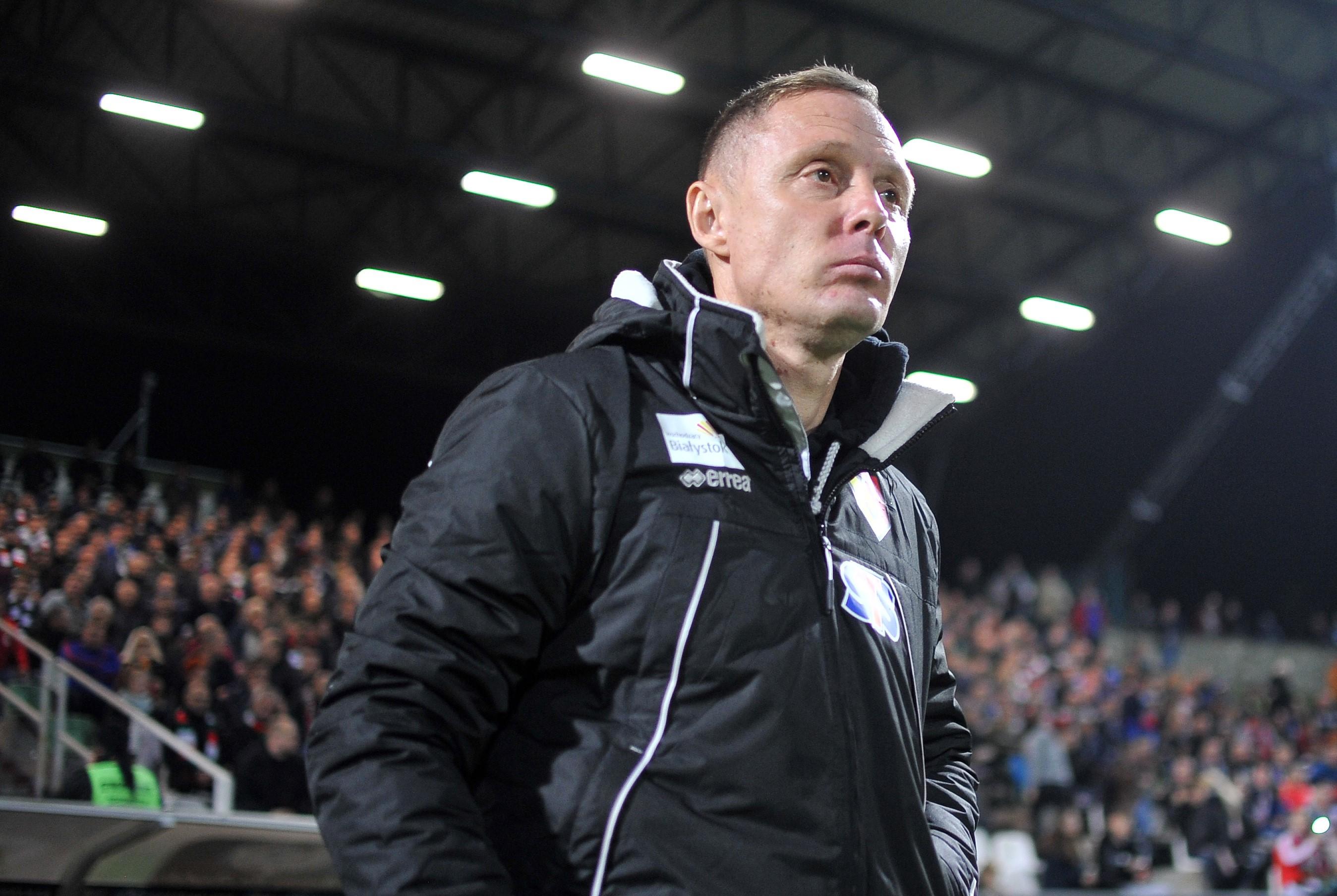 Ireneusz Mamrot, trener Jagiellonii Białystok