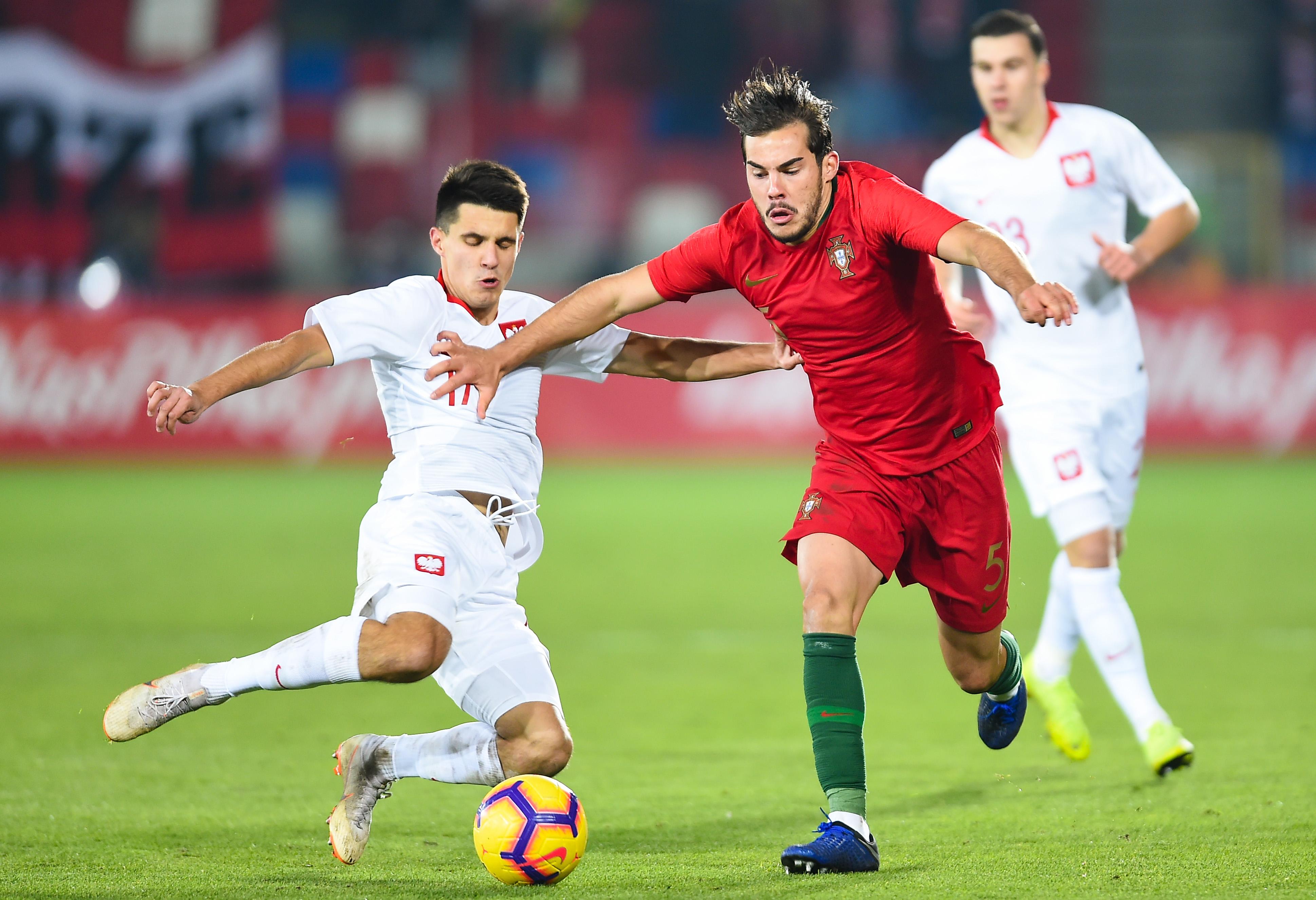 Bartosz Kapustka w meczu reprezentacji Polski