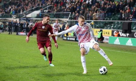 Wolsztyński w meczu Legia Warszawa - Górnik Zabrze