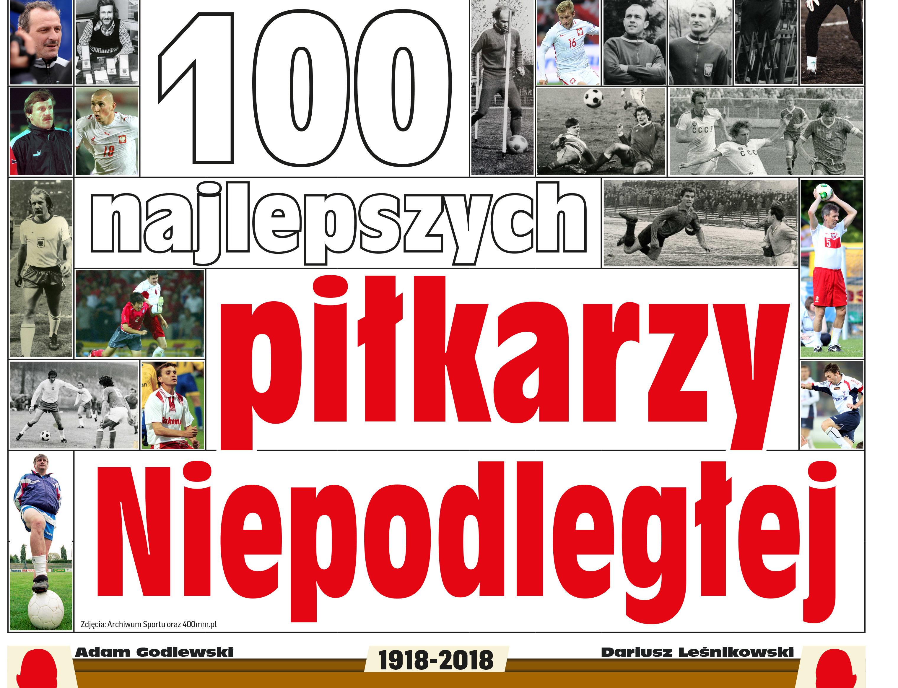 100 najlepszych piłkarzy Niepodległej