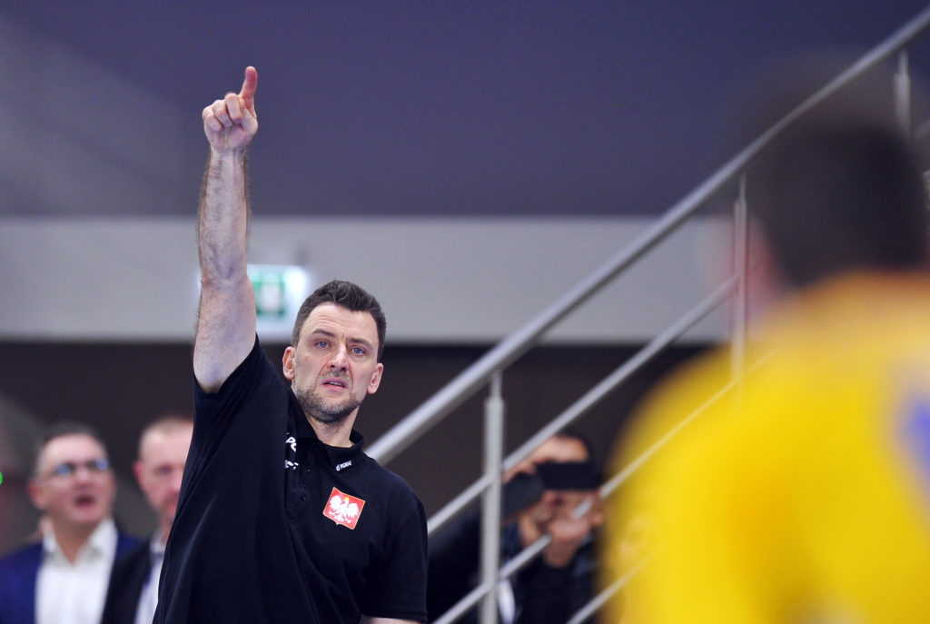Piotr Przybecki po meczu Polska - Rumunia