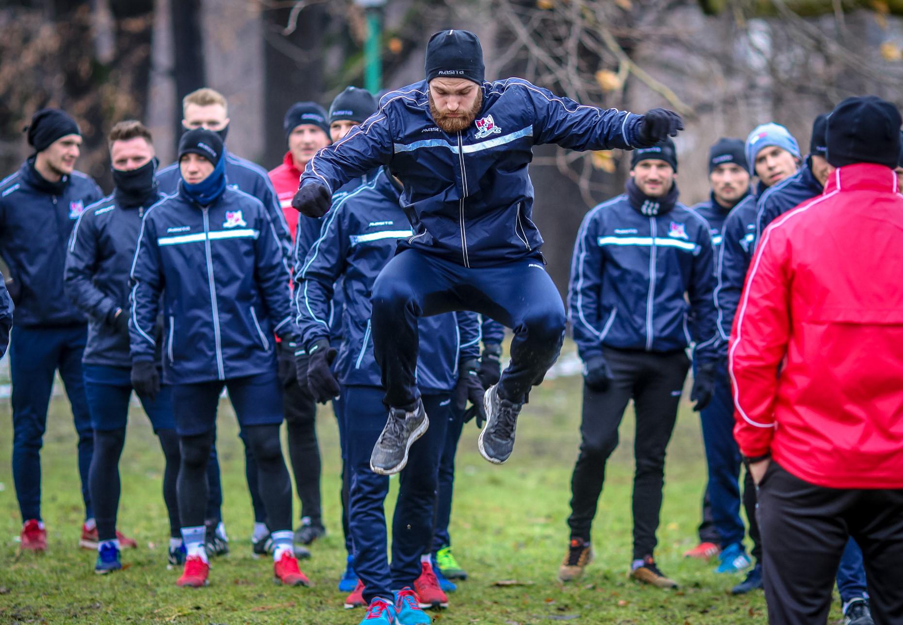 Trening Podbeskidzie Bielsko-Biała