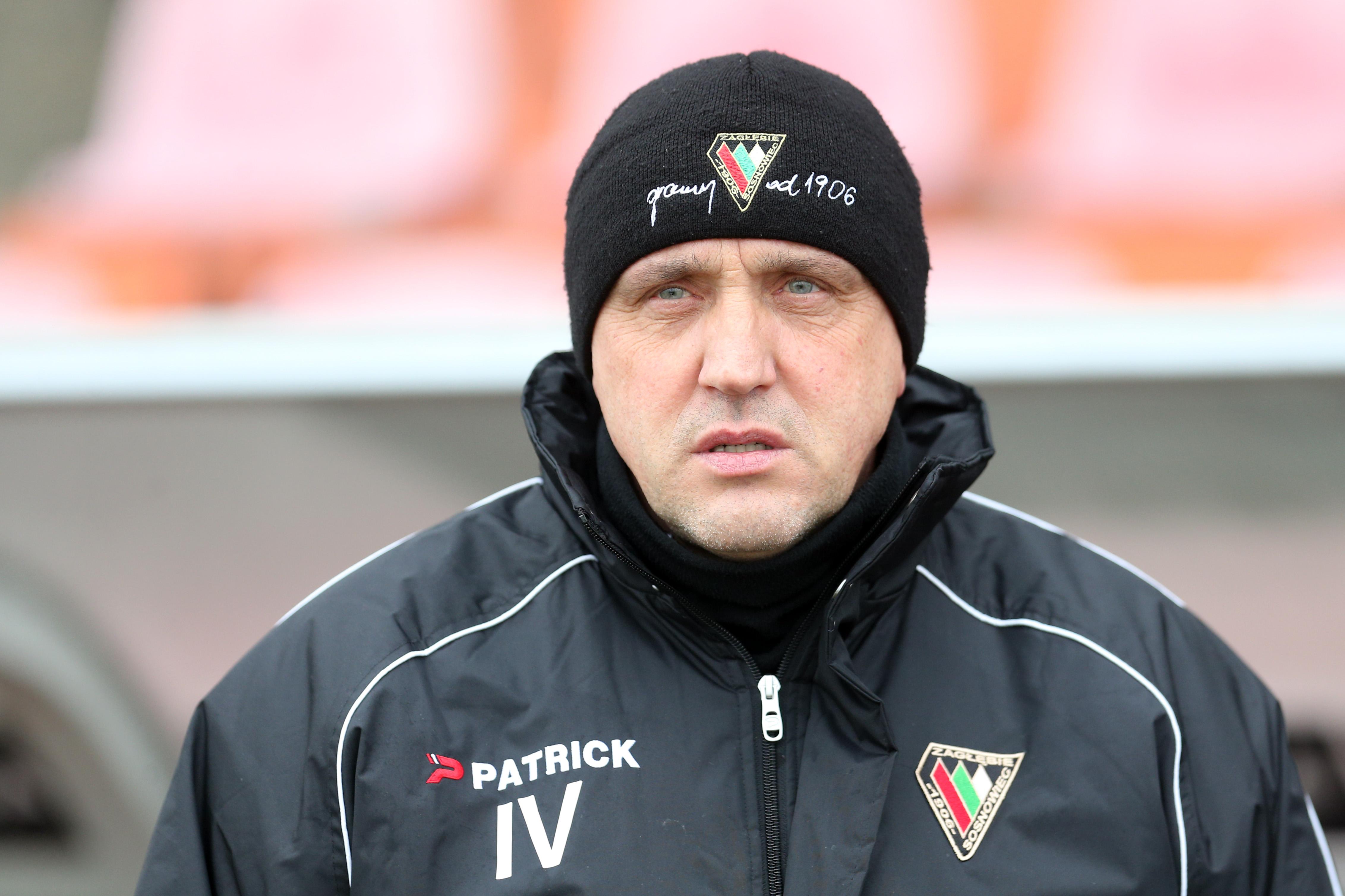 Valdas Ivanauskas trener Zagłębie Sosnowiec