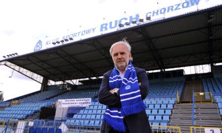 Janusz Paterman Prezes Ruchu Chorzow