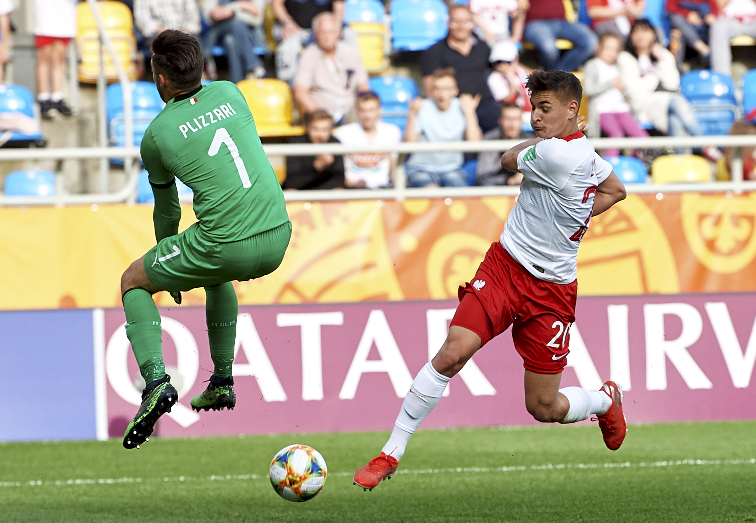 Włochy - Polska w Mistrzostwach Świata U-20