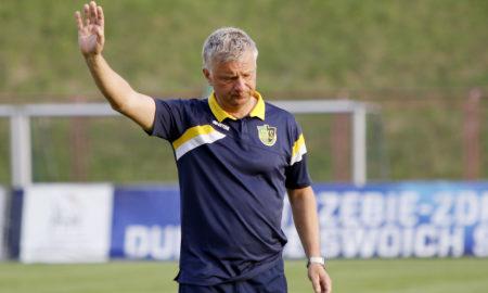 Jarosław Skrobacz trener GKS-u Jastrzębie
