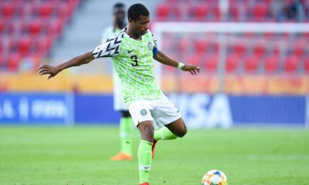 Ikouwem Utin z reprezentacji Nigerii U-20