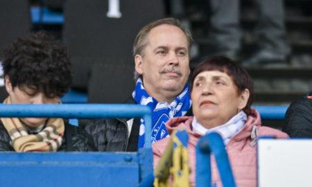 Zdzisław Bik na meczu Ruch Chorzów - Elana Toruń