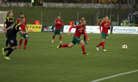 Zagłębie Sosnowiec - GKS Jastrzębie 2:4 (0:3)