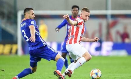 Tomasz Jodłowiec w meczu z Cracovią