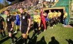 Zatrzymania kibiców po meczu GKS Katowice - Elana Toruń
