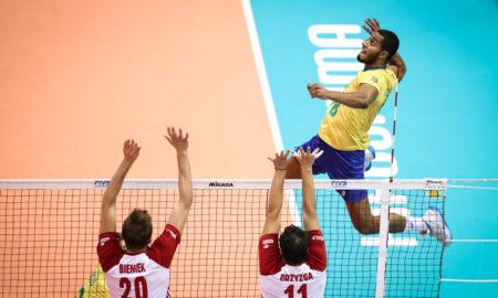 Mecz Polska - Brazylia w Pucharze Świata siatkarzy