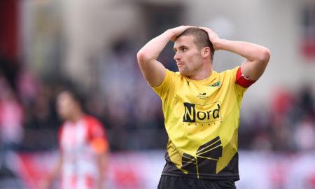 Adrian Błąd w meczu Resovia - GKS Katowice