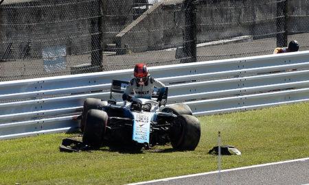 Robert Kubica w GP Japonii