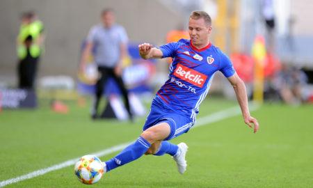 Tomasz Mokwa w meczu LKS Lodz - Piast Gliwice