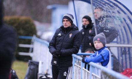 Marcin Brosz w sparingu z Banikiem Ostrava
