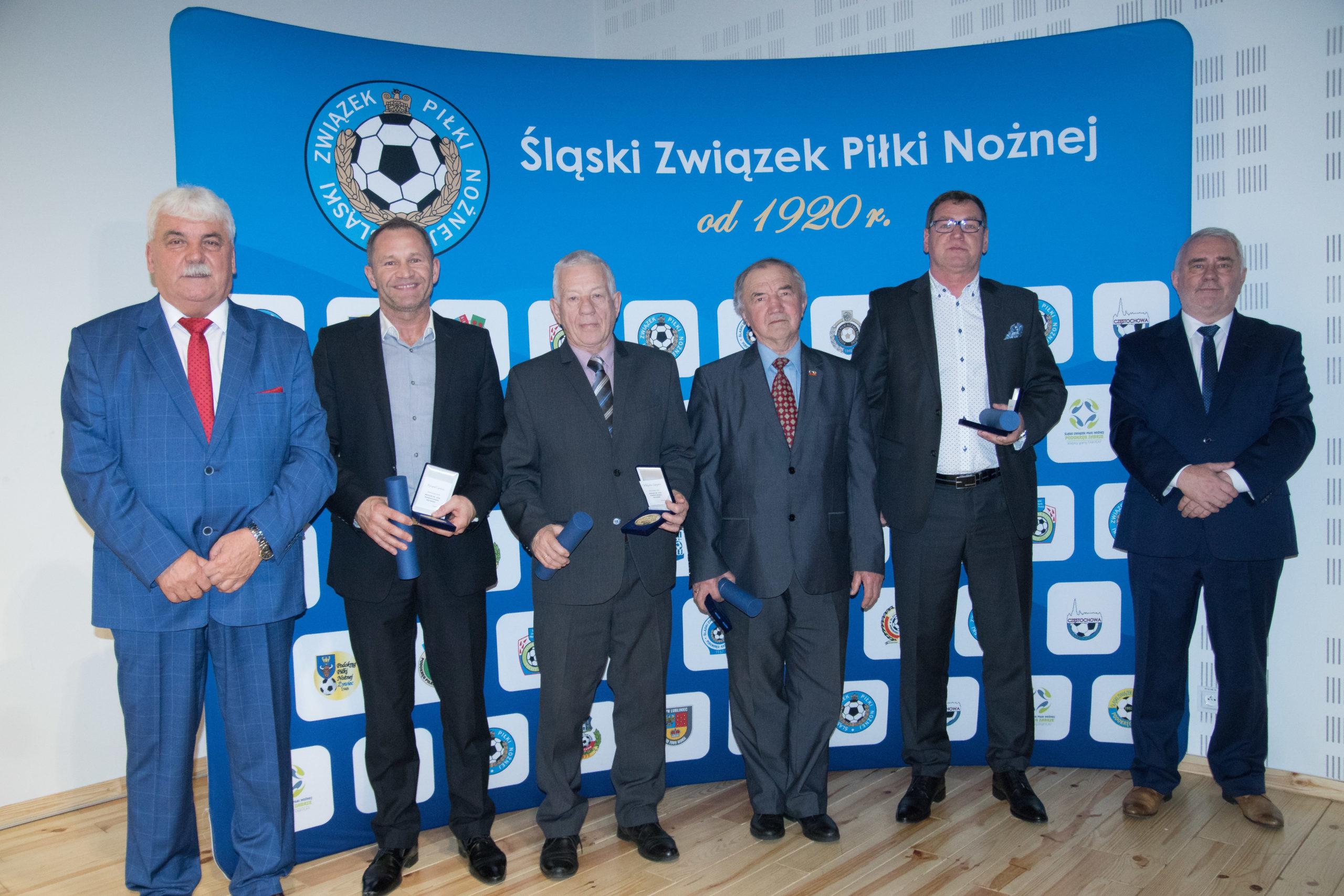 Gala 100-lecia Śląskiego Związku Piłki Nożnej w Sosnowcu