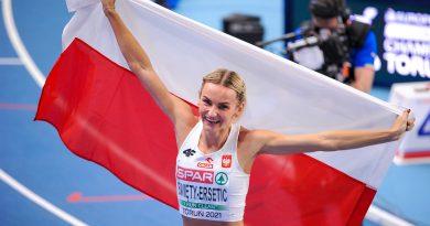 Srebrna Justyna przebiegła dużo ponad 400 metrów!